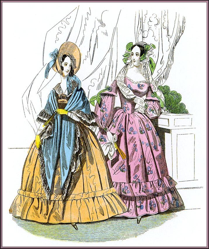 Викторианский Стиль Одежда