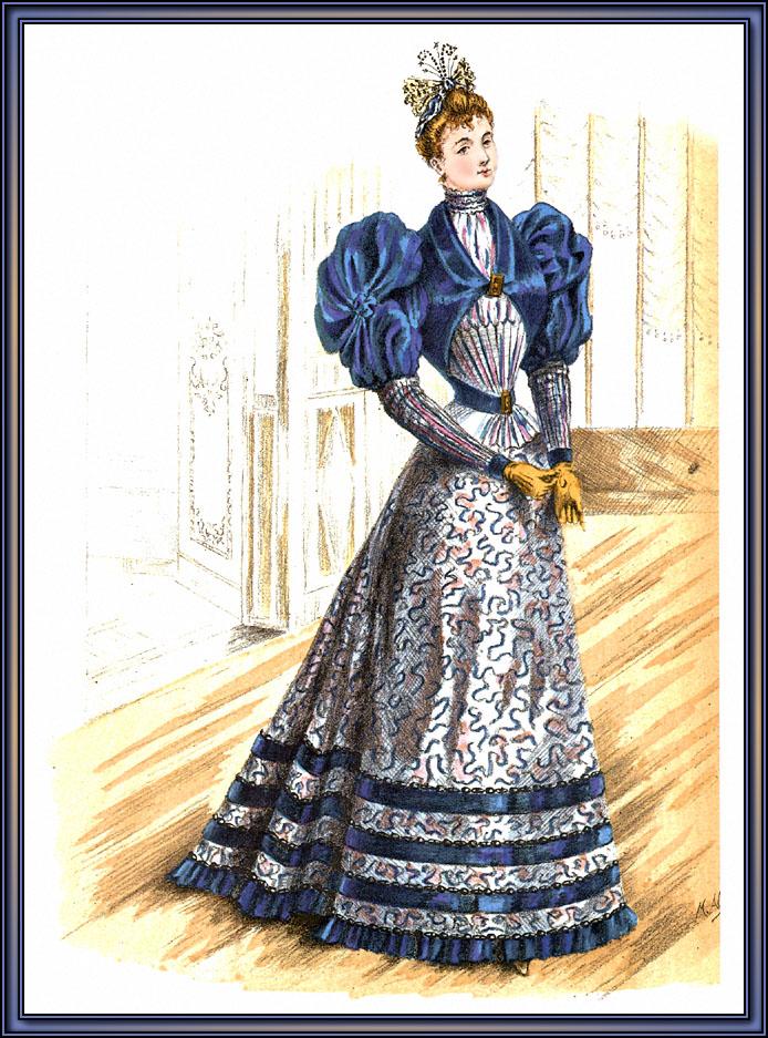 Викторианский Стиль Одежды