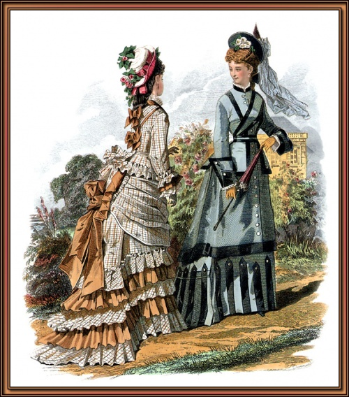 Victorian Fashion (73 работ)