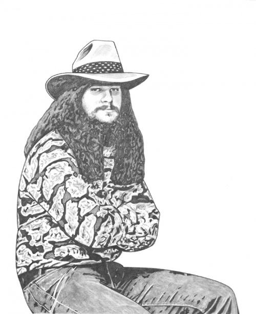 Американская художница Даниэлла (BloodyVoodoo) (37 фото)