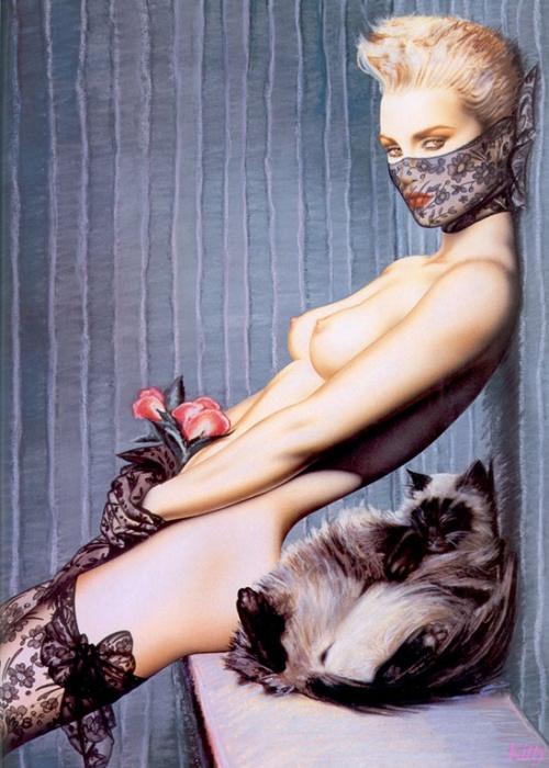 Работы художника Olivia de Berardinis (109 фото)