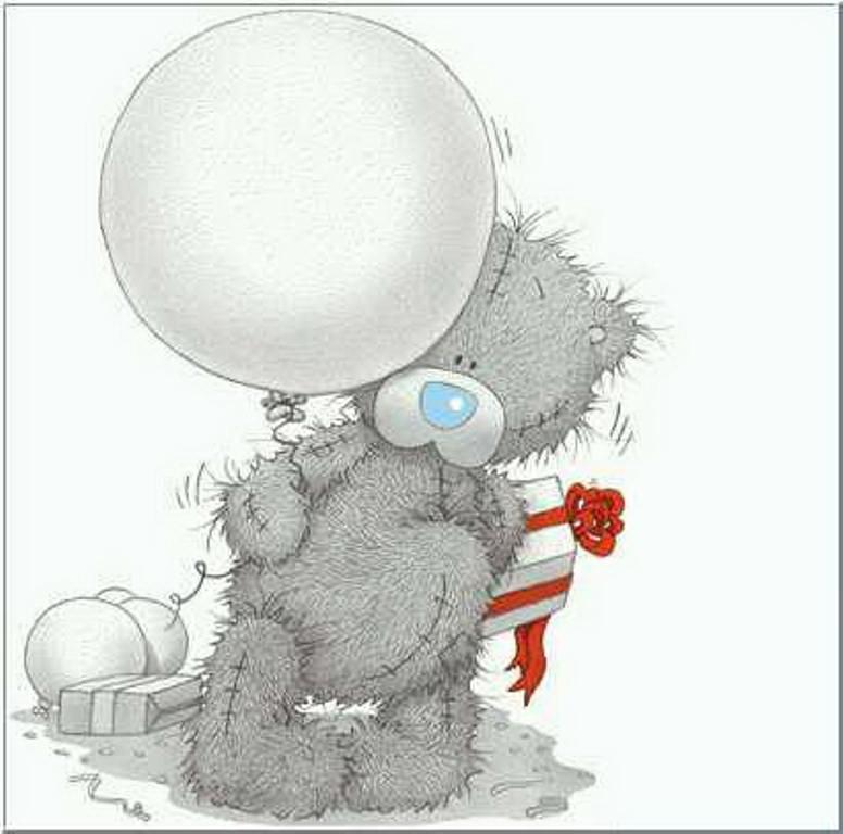 как картинки мишек тедди с шариками время атаки