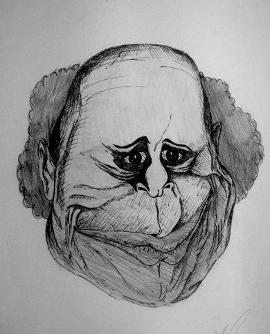 Депрессивные рисунки А.А.Черепко (44 работ)