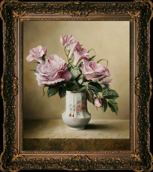 Pieter Wagemans. Букеты и натюрморты. (115 фото)