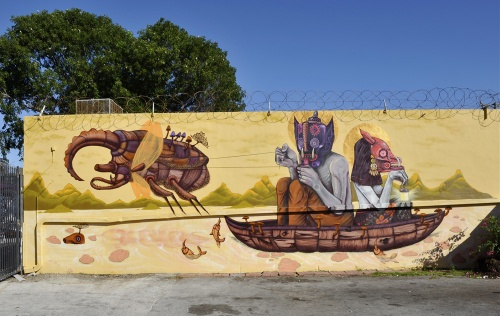 Уличный художник из Мексики Сего (Sego) (38 фото)