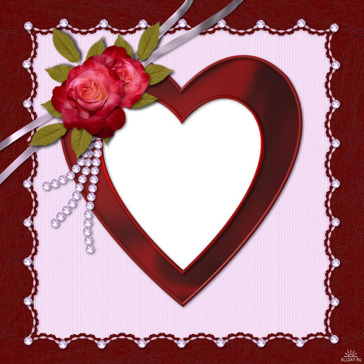 Фото рамка в день святого валентина своими руками
