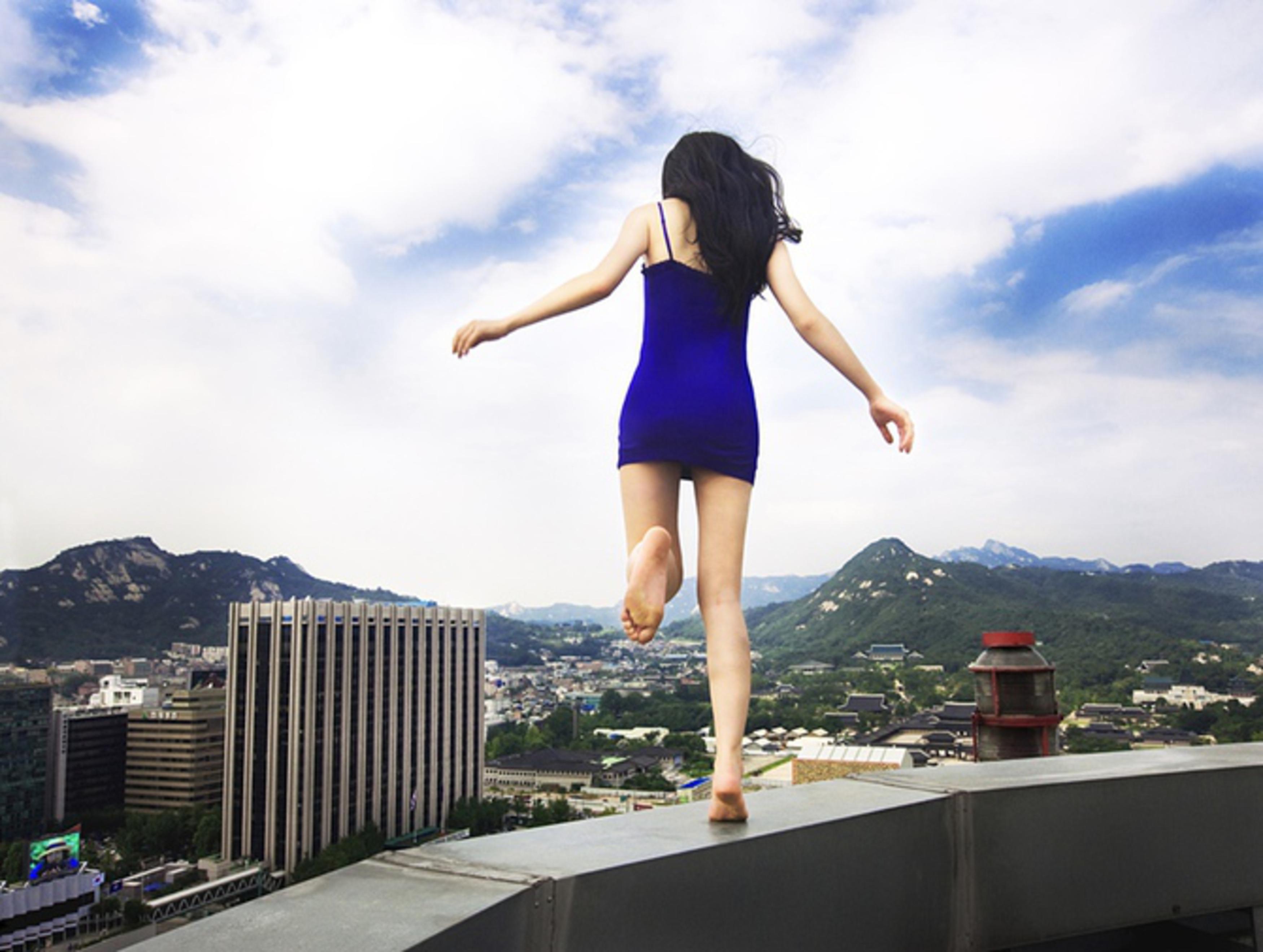 Секс на крыше многоэтажного дома 21 фотография