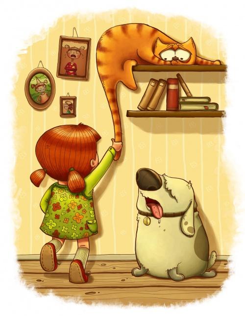 Иллюстратор Анна Кулаковская (30 фото)
