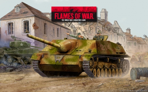 Flames Of War. Часть 2 (11 работ)