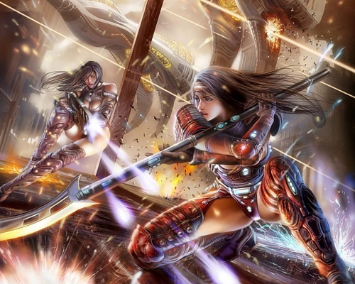 Heavenly Sword 2 from Fantasy (104 работ)