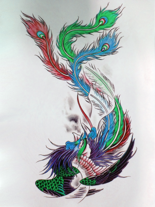 A Liang Tattoo Flash Book (86 фото)