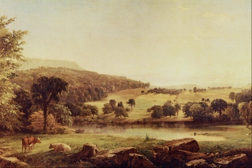 Произведения искусства - Пейзажи / Works of art - Landscapes (101 работ)