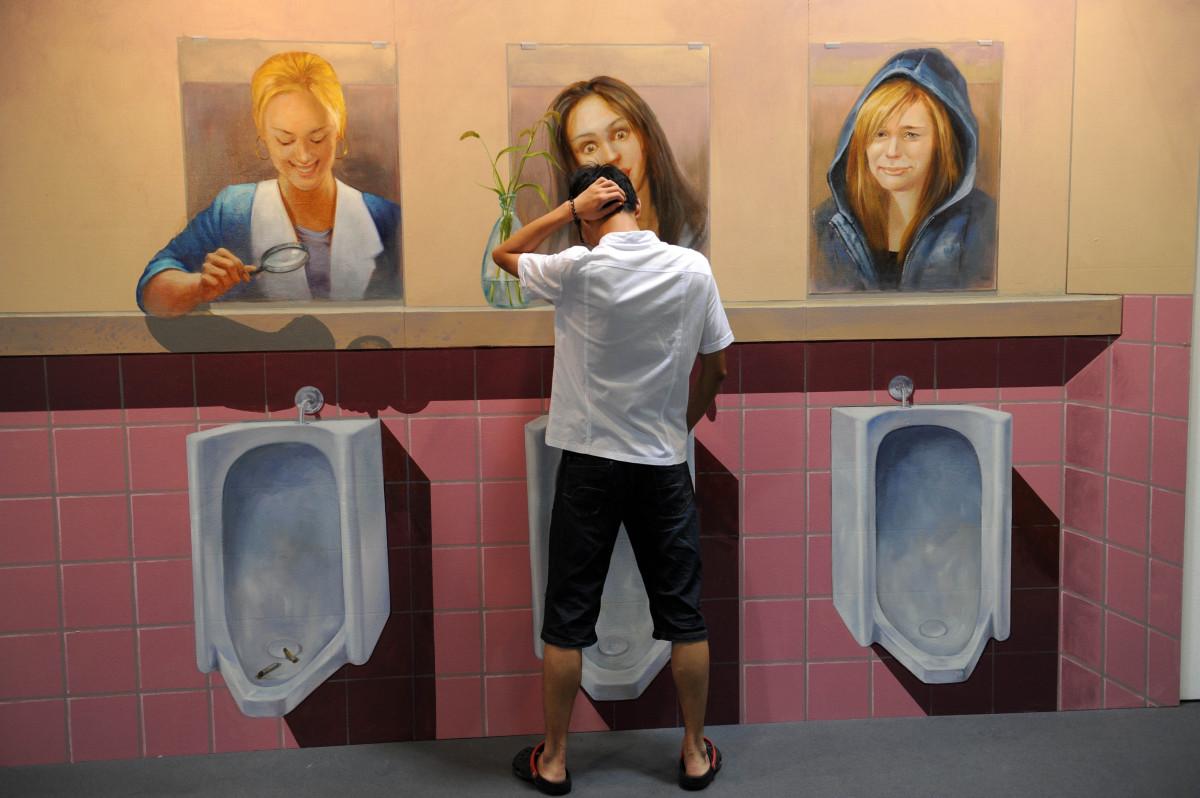 Туалет в останкино секс