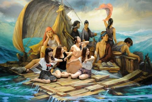 Трехмерные картины на Magic Art Special Exhibition 2012 (74 работ)