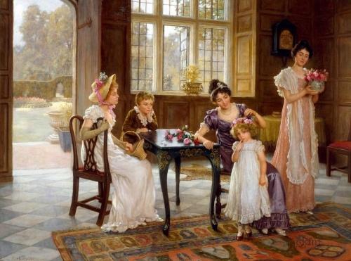 Английский художник Charles Haigh-Wood (1856-1927) (31 фото)