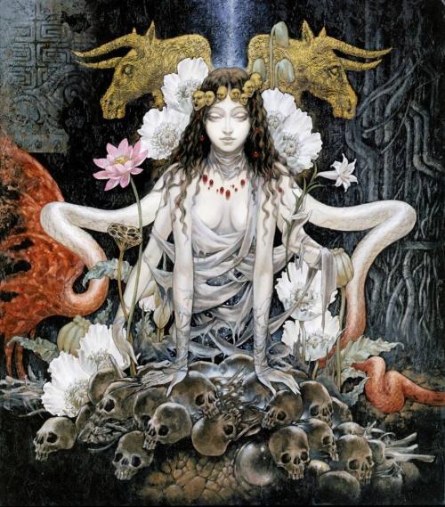 "Ayami Kojima Art Works ""Santa Lilio Sangre"" (164 фото)"