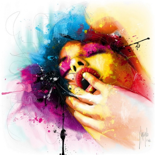 Acrylic painting Patrice Murciano (70 работ)