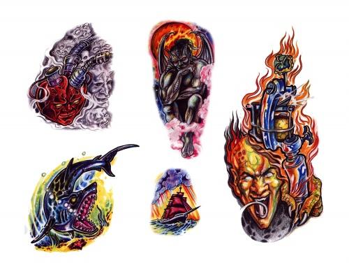 Tattoo Flash (259 фото)