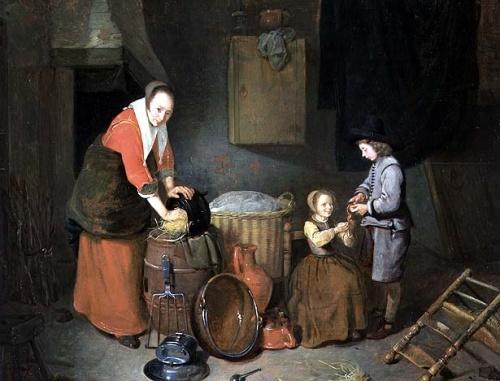 Brekelenkam, Quiringh Van (Кирин ван Брекеленкам) (Dutch, 1620-1668) (51 работ)