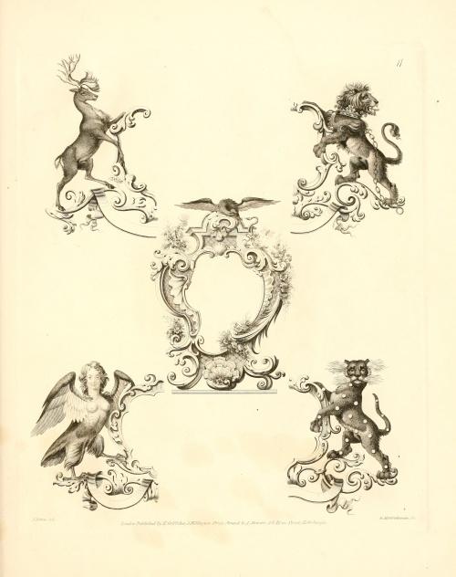 Knight`s Heraldic Illustrations (21 работ)