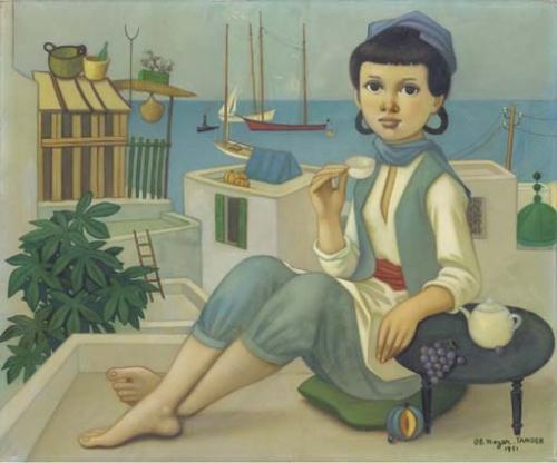 Художник Philippe Henri Noyer (French, 1917 - 1985) (32 фото)