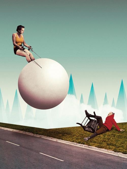 Французский иллюстратор Жульен Пако (Julien Pacaud) (139 фото)