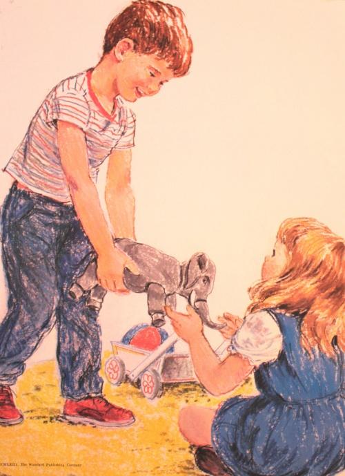 Работы художника-иллюстратора Frances Hook (71 фото)