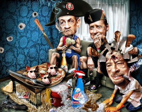 Злые карикатуры Riccardo Boscolo (97 фото)