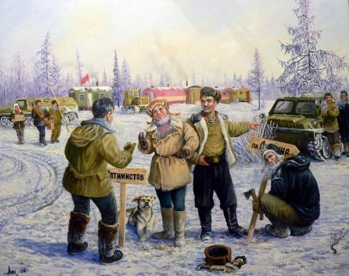 Кубанский казачий художник Андрей Лях (70 фото)