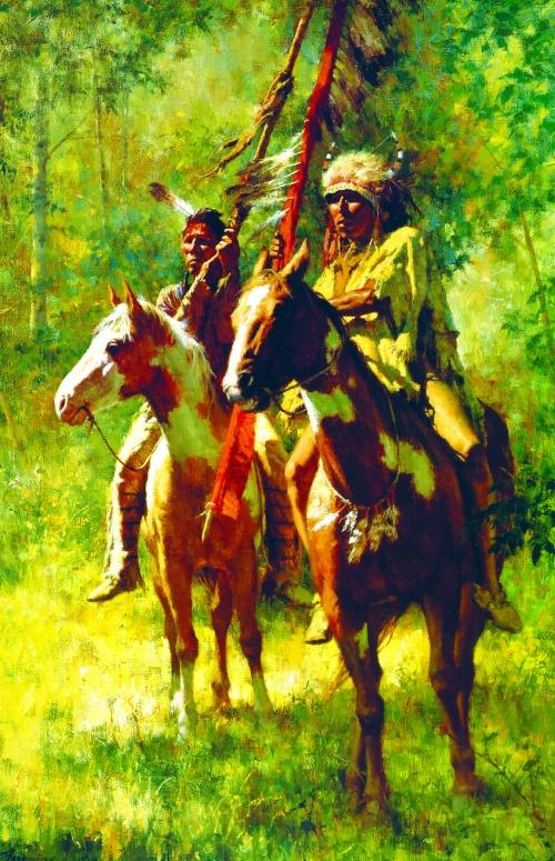 Индейцы Северной Америки / Indians of North America (81 фото)