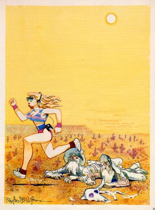 Художник-карикатурист Rowland B. Wilson (157 фото)