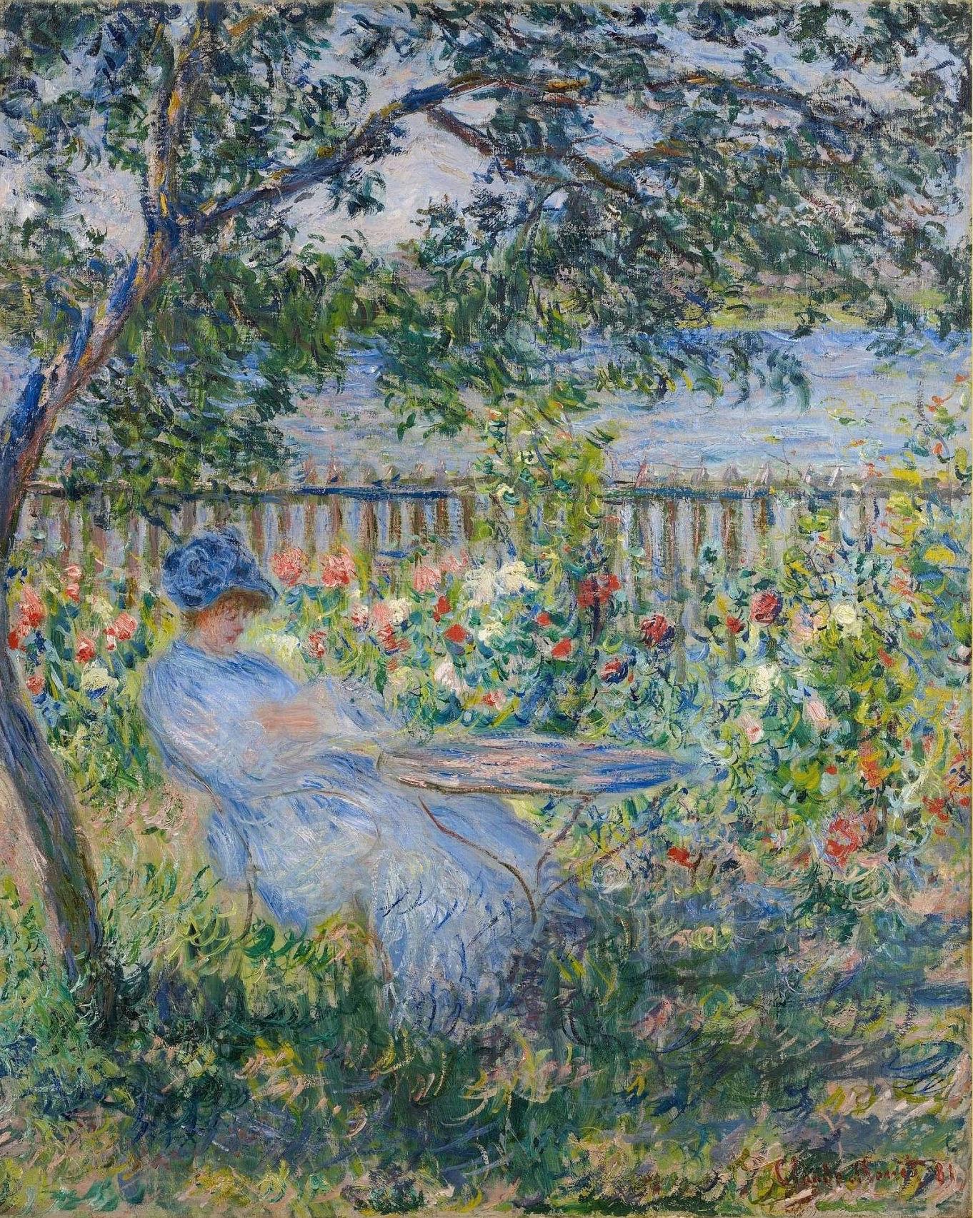 Artworks by Oscar Claude Monet (1 часть) (351 работ) » Картины, художники,  фотографы на Nevsepic