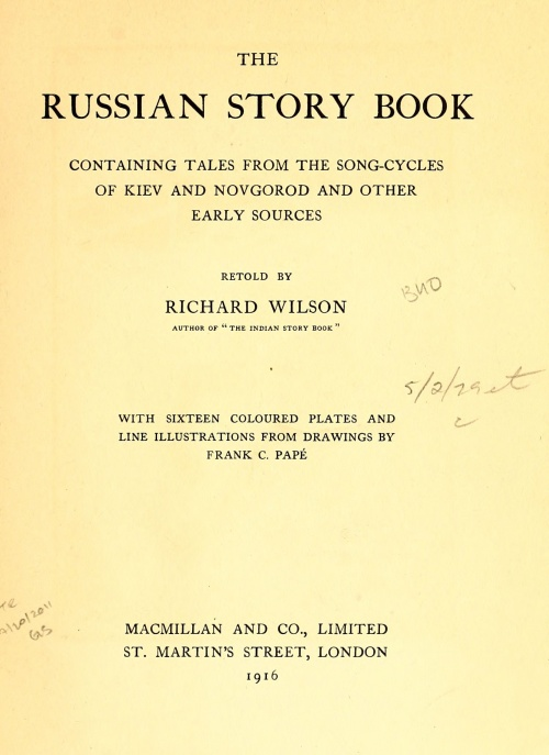 The Russian story book (52 фото)