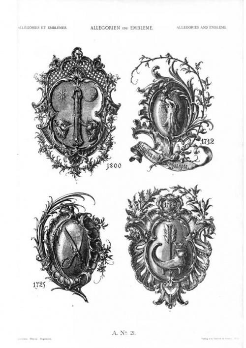 Allegorien und Embleme (180 работ)