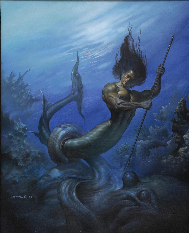 Костюмированное поздравление для юбиляра от Нептуна и Русалок / Веселое 47