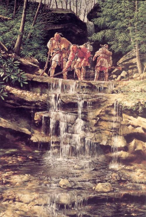 Robert Griffing - индейцы - восточная граница (85 работ)