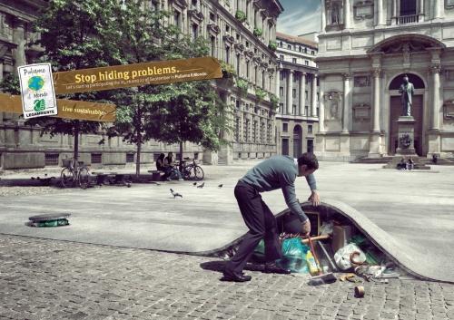 Креативная реклама (82 фото)