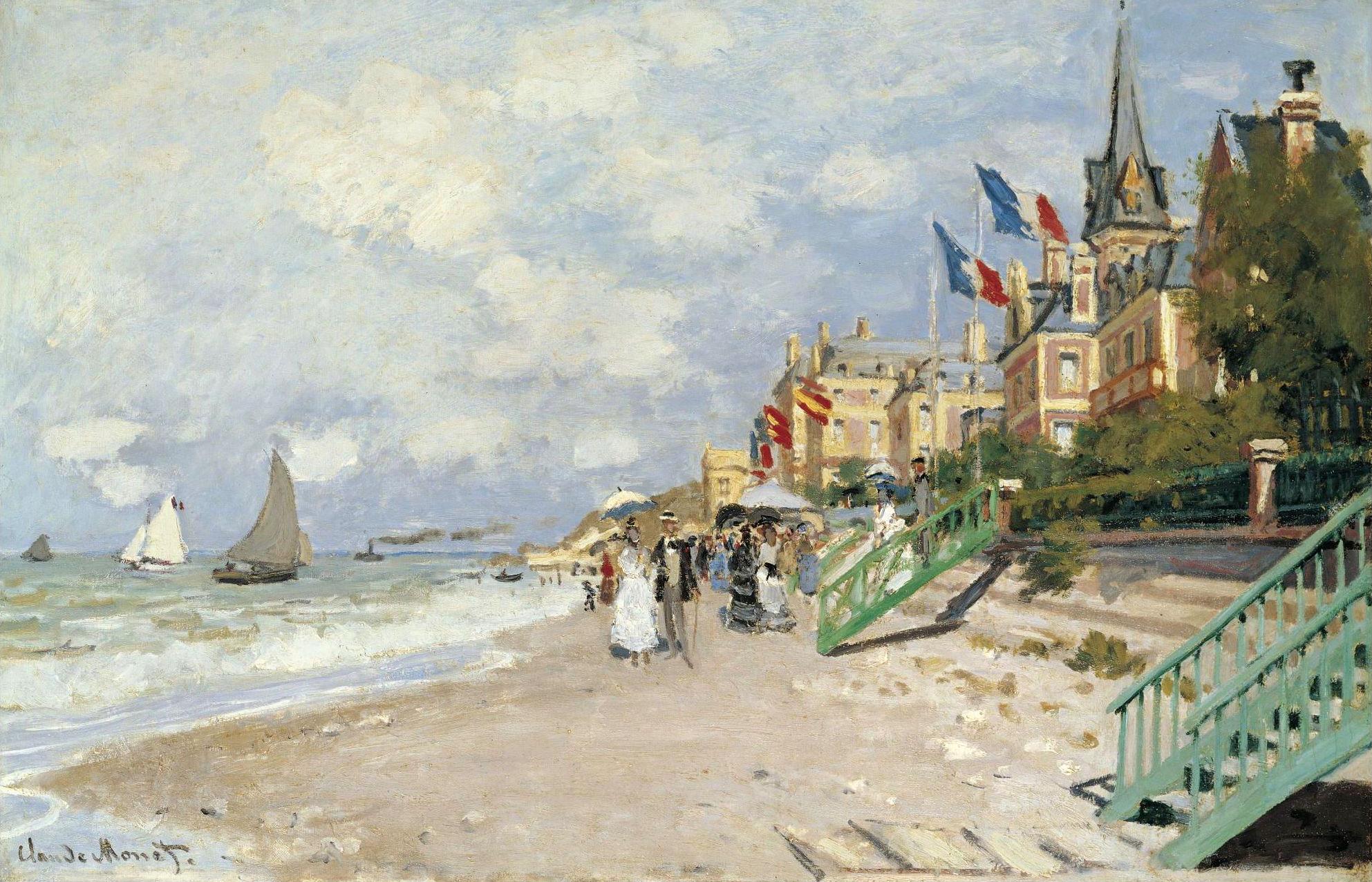 Artworks by Oscar Claude Monet (2 часть) (231 работ) » Картины, художники,  фотографы на Nevsepic