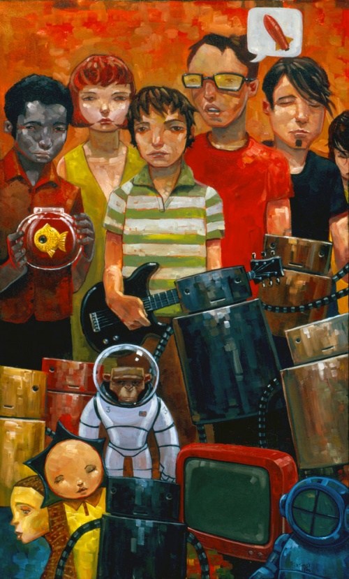 Artworks by Aaron Jasinski (170 фото)