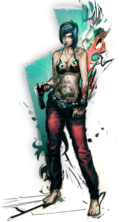 APB Reloaded Artworks (33 работ)