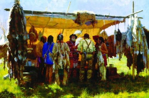 Howard Terpning - индейцы прерий (81 работ)