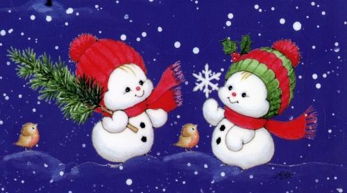 Рождественские открытки Ruth Morehead (59 открыток)
