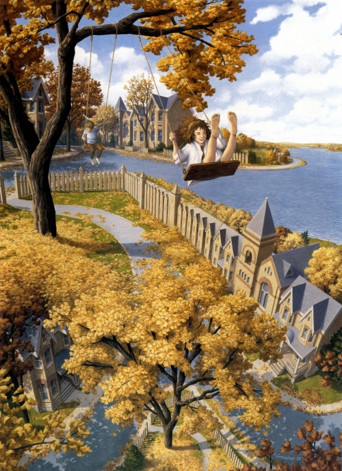 Художник Rob Gonsalves (91 работ)
