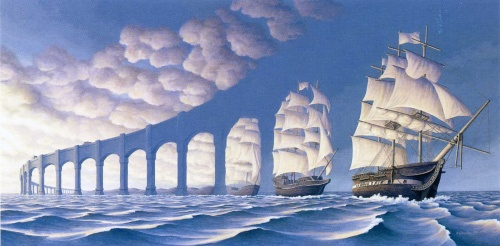 Художник Rob Gonsalves (91 фото)