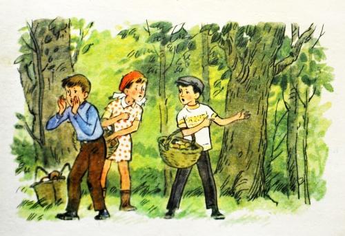 """Рисунки из учебника """"Русский язык 3 класс"""" СССР (1980) (25 фото)"""