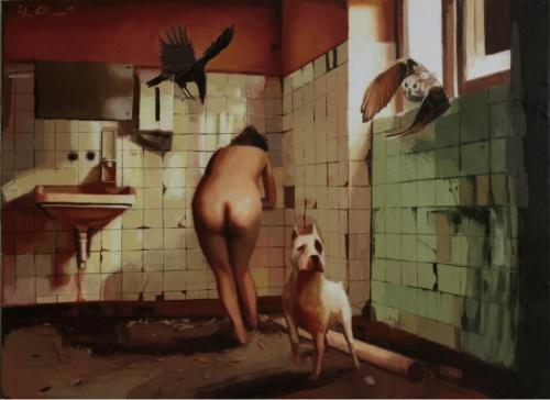 Живопись Ilke Kutlay (57 работ)
