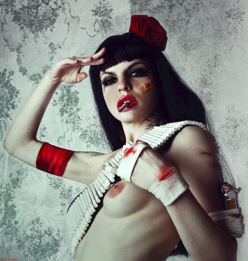 Никотиновые девушки Вивероса (233 фото)