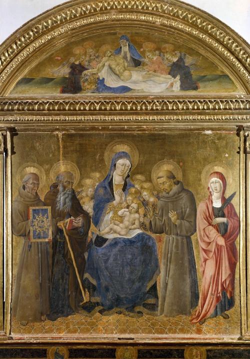 Artworks by Giovanni di Paolo (213 фото)