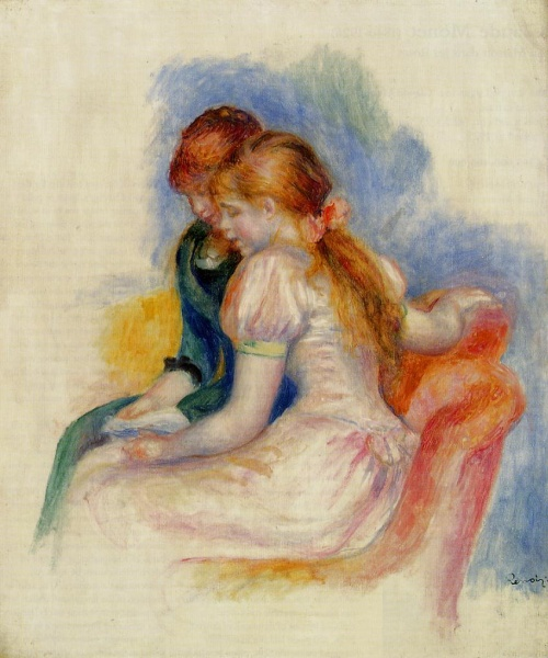 Artworks by Pierre Auguste Renoir. Часть 4 (450 фото)