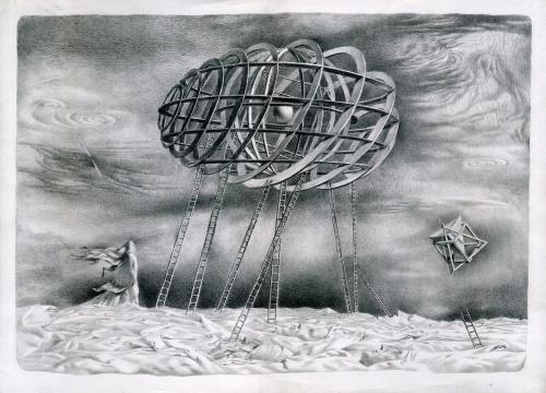 Графика Всеволода Швайбы (32 фото)